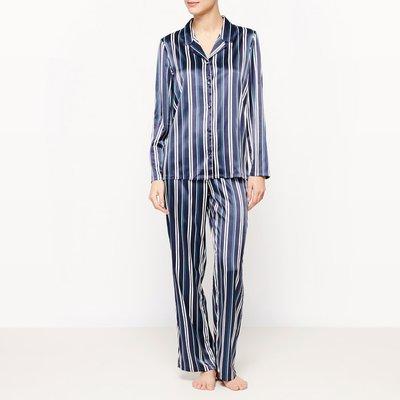 2-Piece Striped Long-Sleeved Pyjamas