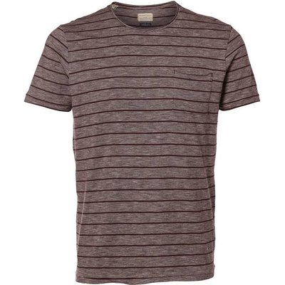 Striped T-Shirt with Breast Pocket