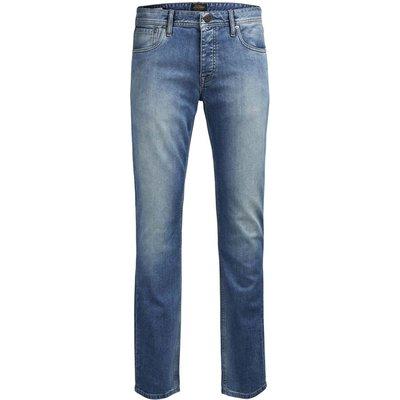Straight Leg Regular Fit Cotton Mix Jeans 28.5