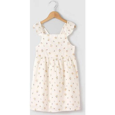 Strappy Floral Print Dress, 3-12 Years