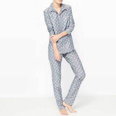 Grandad Style 2-Piece Pyjamas