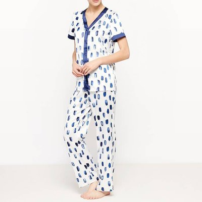 2-Piece Printed Short-Sleeved Pyjamas