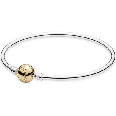 PANDORA Moments Two-Tone Bangle