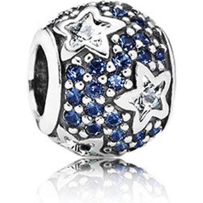 PANDORA Midnight Blue Crystal Pavé Star Charm