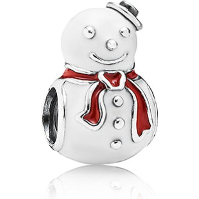 PANDORA Happy Snowman Charm