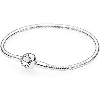 PANDORA Moments Smooth Silver Clasp Bracelet
