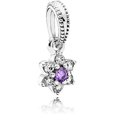 PANDORA Silver Forget Me Not Pendant Charm