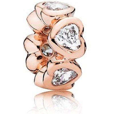 PANDORA Rose Sparkling Hearts Charm