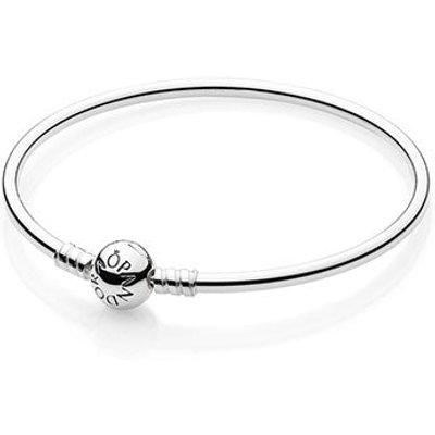 PANDORA Silver Charm Bangle