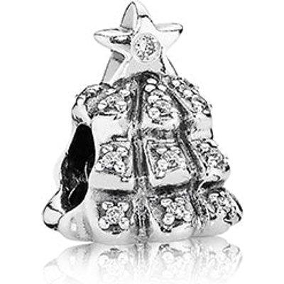 PANDORA Silver and Zirconia Pave Christmas Tree