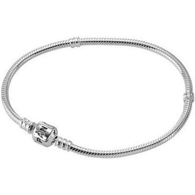 PANDORA Silver Barrel Clasp Bracelet