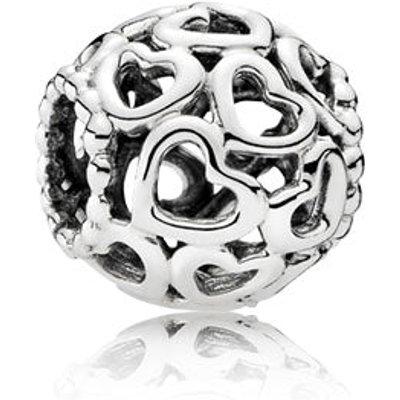 PANDORA Silver Hearts Charm