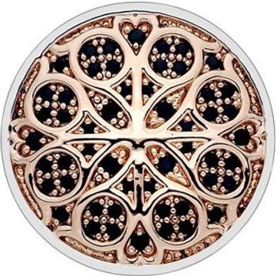 Emozioni Radici Rose Gold Plate Coin