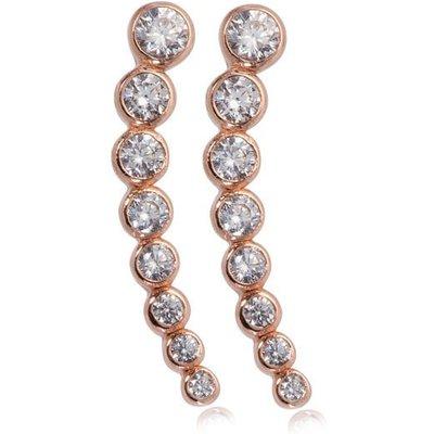 Penny Levi 'Rita' Rose Cuff Earrings