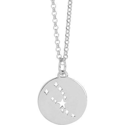 Muru Silver Taurus Necklace