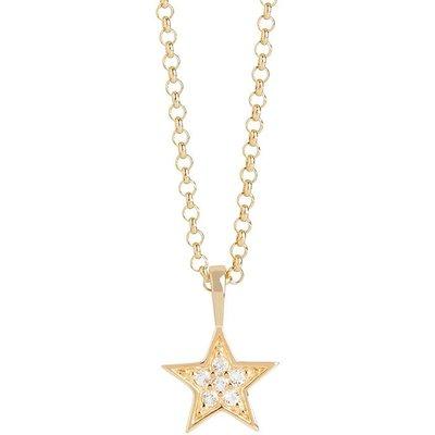 Muru Gold Tiny Star Necklace
