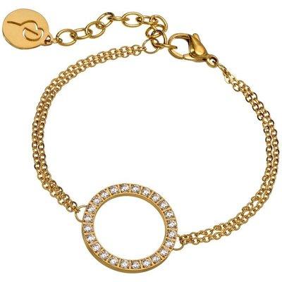 Edblad Gold Glow Ring Bracelet