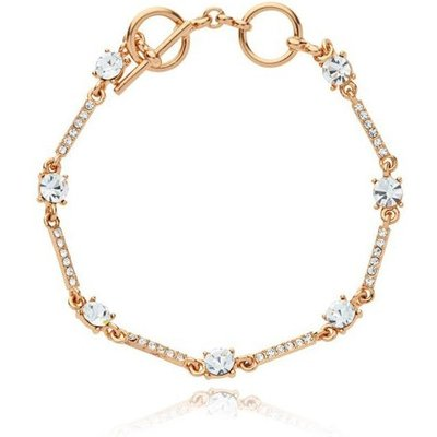 Knight And Day Rose Gold Crystal Bracelet