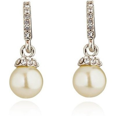 Knight And Day Rhodium And Crystal Pearl