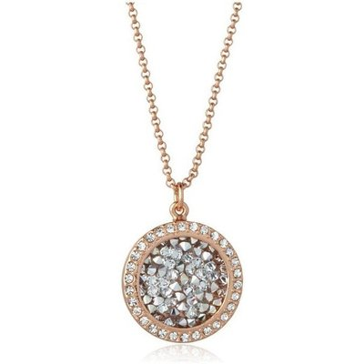 Knight And Day Rose Gold Cal Necklace