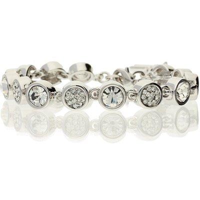 Bella Mia Abbie Crystal Mix Stone Tennis Bracelet
