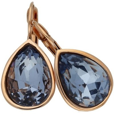Qudo Pendant Drop Earrings With Lavender