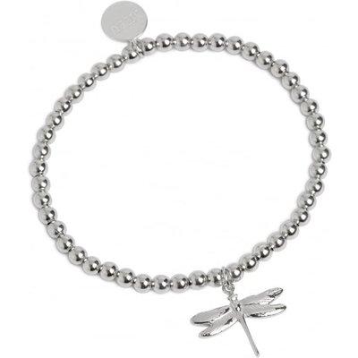Muru Silver Dragonfly Bracelet