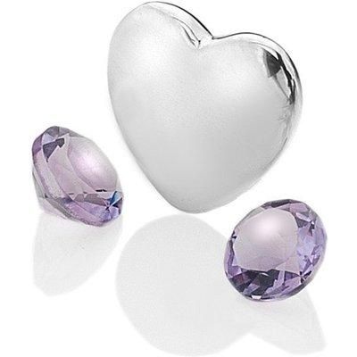 Anais Rhodium February Heart