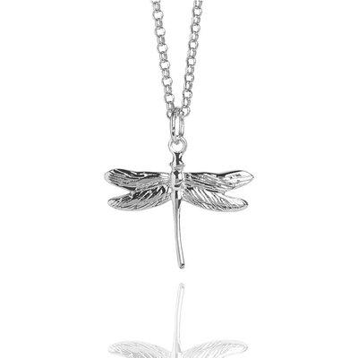 Muru Silver Dragonfly Necklace