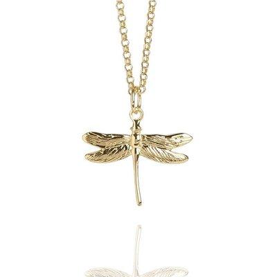 Muru Gold Dragonfly Necklace