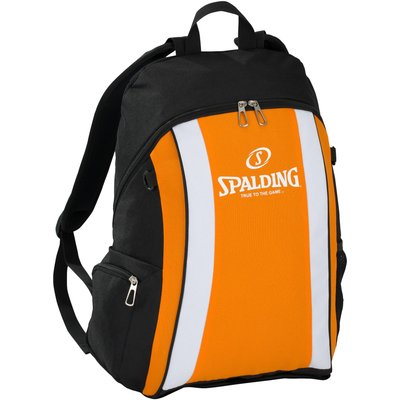Spalding Backpack - Black/Orange