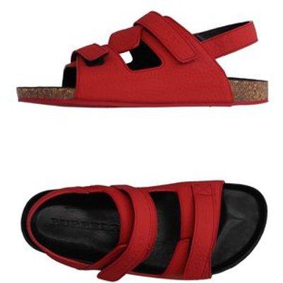 BURBERRY FOOTWEAR Sandals Unisex on YOOX.COM