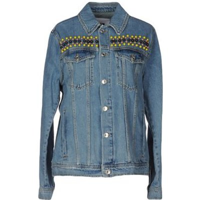MSGM DENIM Denim outerwear Women on YOOX.COM