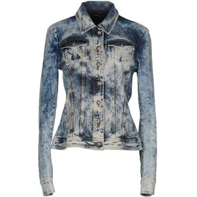 PHILIPP PLEIN DENIM Denim outerwear Women on YOOX.COM