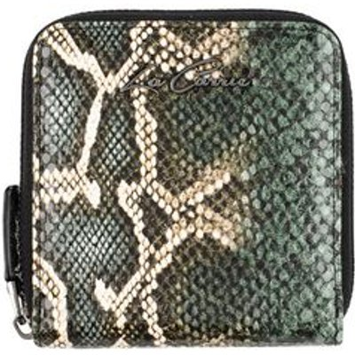 LA CARRIE BAG Small Leather Goods Wallets Women on YOOX.COM, Dark Green