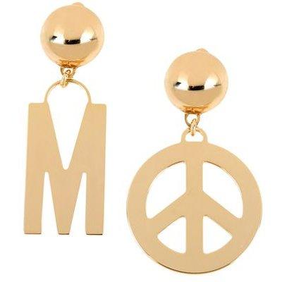 MOSCHINO COUTURE JEWELLERY Earrings Women on YOOX.COM