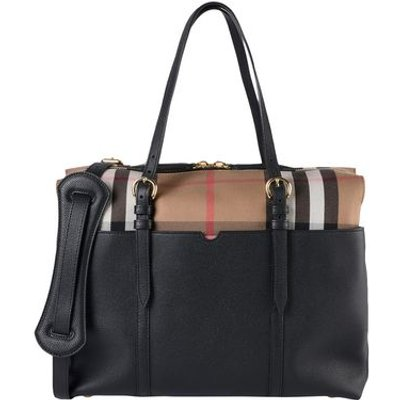 BURBERRY LUGGAGE Baby tote bags Unisex on YOOX.COM, Black