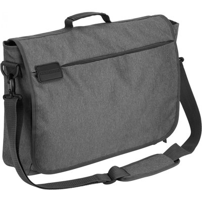 17 Commuter Lap Top Bag With RFID PROTECTION Quarry Grey