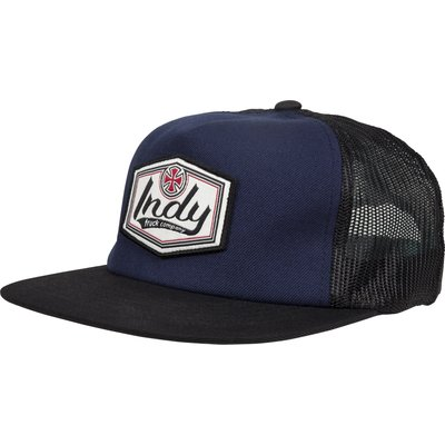 Independent Patch Mesh Back Cap - Navy