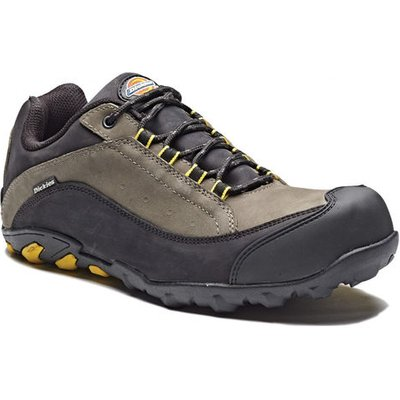Dickies Dickies Faxon Safety Trainer in Grey & Black (Size 5.5)