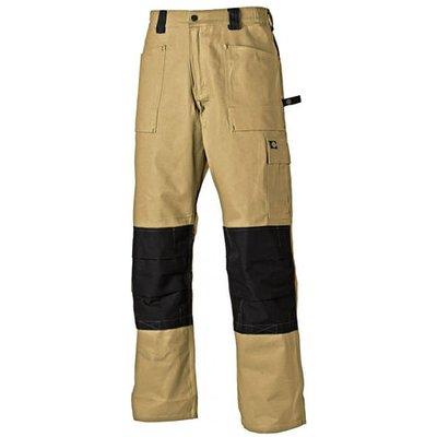 Dickies Dickies Grafter Duo Tone Trousers Khaki/Black 46T