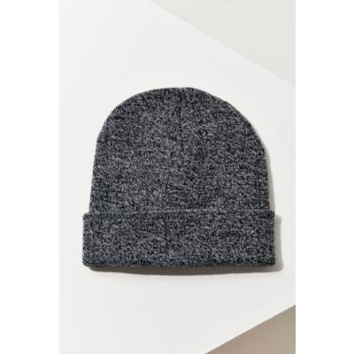 Double Knit Basic Beanie, GREY