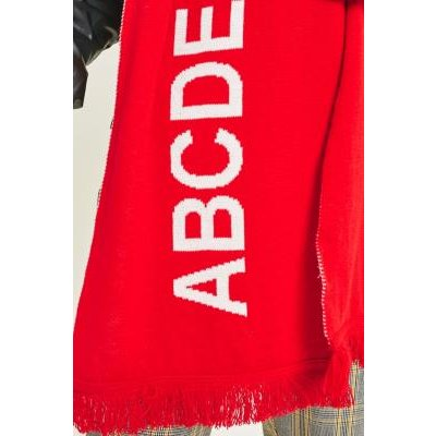 ABCDFree Scarf, RED