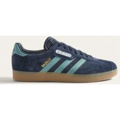 adidas Gazelle Super Blue Trainers, NAVY