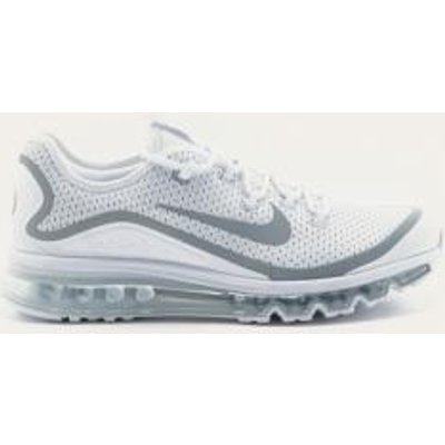 Nike Air Max More White Trainers, WHITE