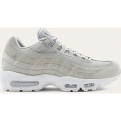 Nike Air Max 95 Essential Red Trainers, GREY