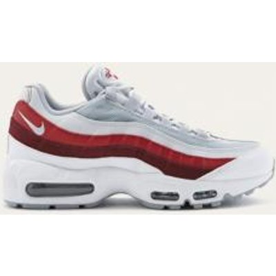Nike Air Max 95 Essential Red Trainers, WHITE