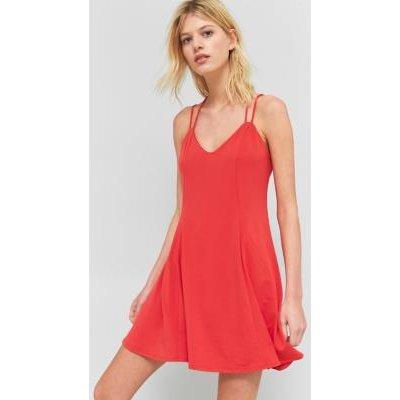 Sparkle & Fade Strappy Back Flippy Dress, PINK