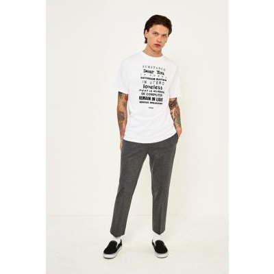 Loom Grey Tailored Jersey Trousers, GREY