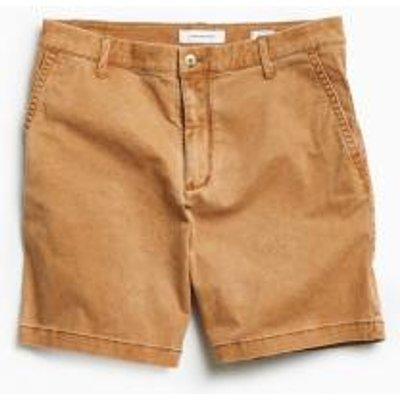 UO Prep Sand Chino Shorts, TAN